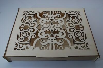 Коробок для выставки пряников