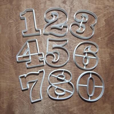"Набор форм для пряников ""Набор цифр Clarendon"" 10 см"