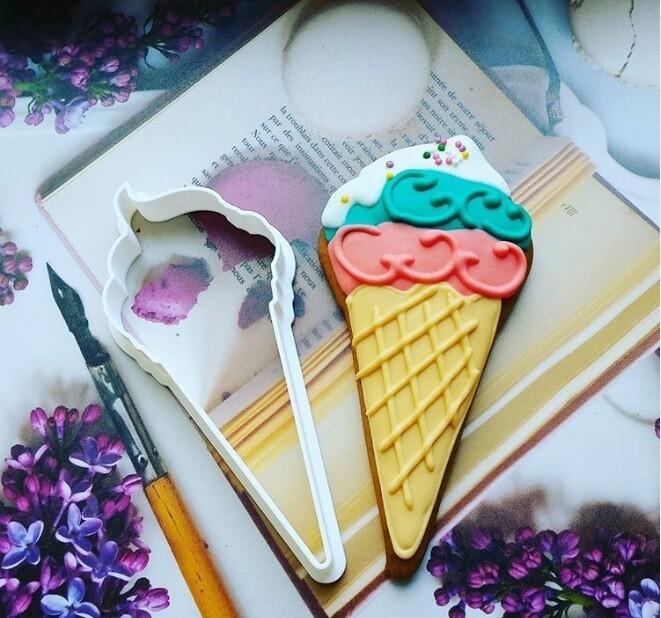 """Форма для пряников """"Мороженое"""" 5х9 см"""
