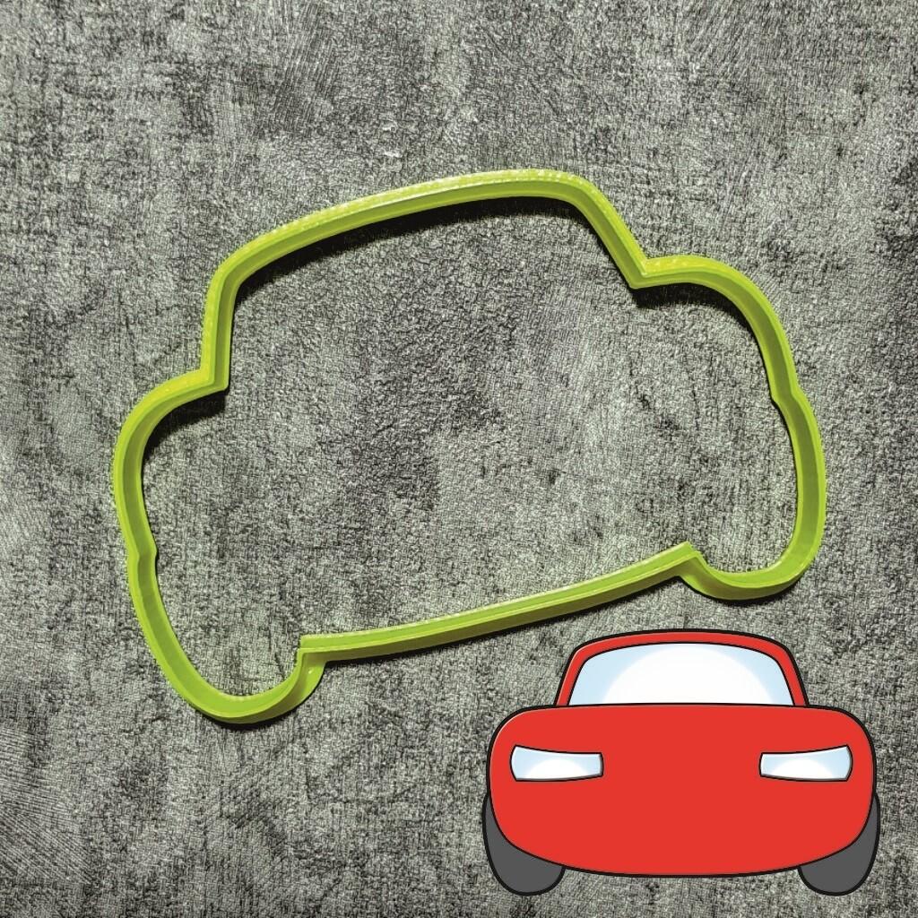 """Форма для пряников """"Машинка №1"""" (10,5х7 см)"""
