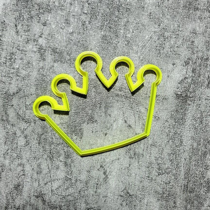 """Форма для пряников """"Корона №2"""" (10х7,5 см)"""