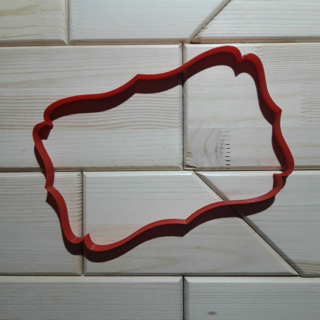 """Форма для пряника """"Рамка №14"""" (22х14 см)"""