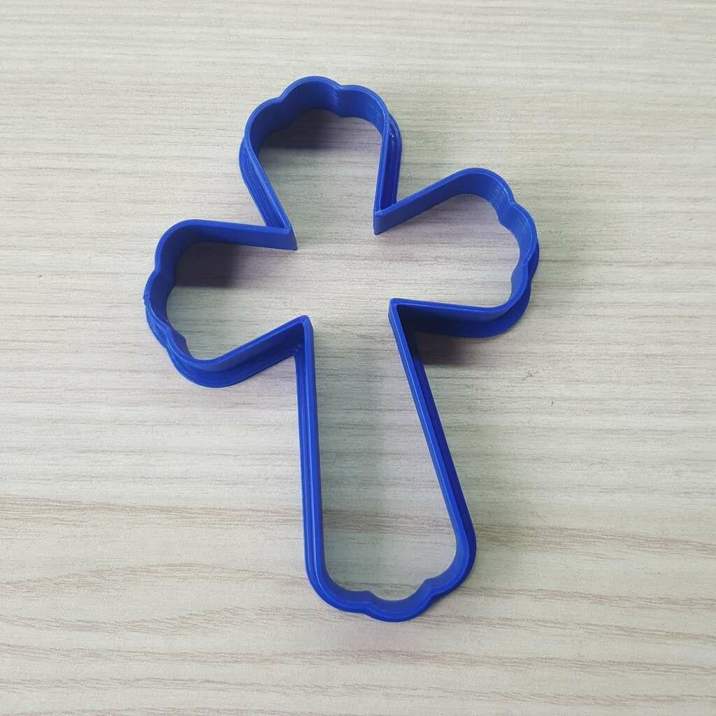 """Форма для пряников """"Крест №2"""" (7 х 10 см)"""