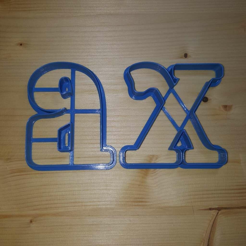 "Форма для пряников ""ХВ №2"" (8 см)"