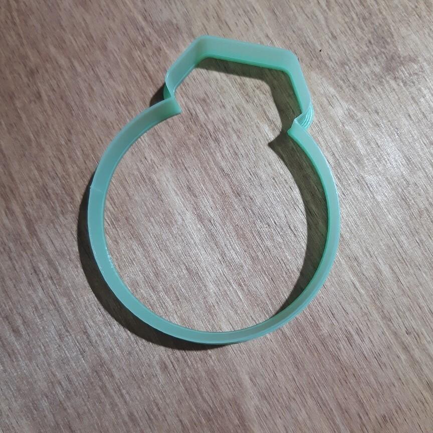 """Форма для пряников """"Кольцо №5"""" (8 х 10 см)"""