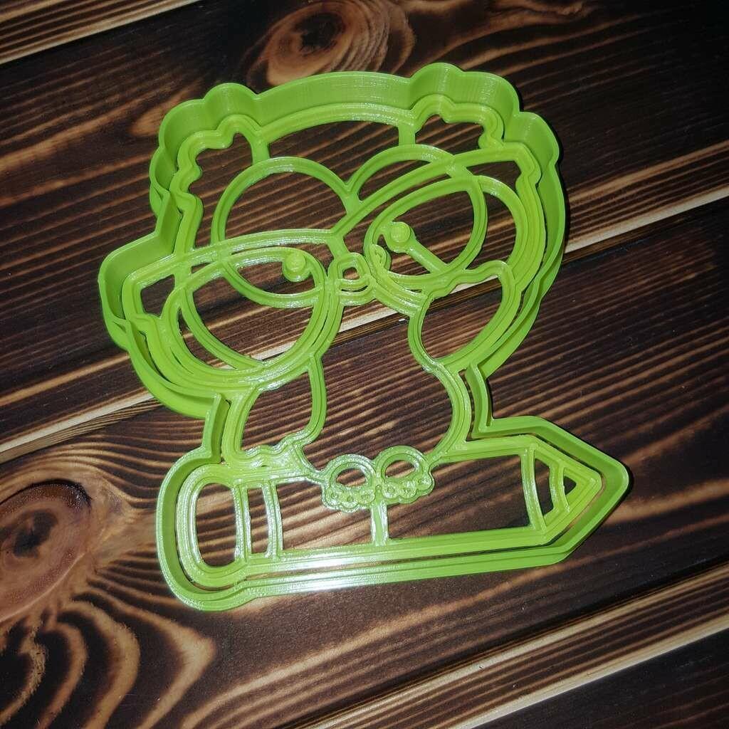 """Форма для пряника """"Сова №2"""" (10,5 х 11 см) со штампом"""