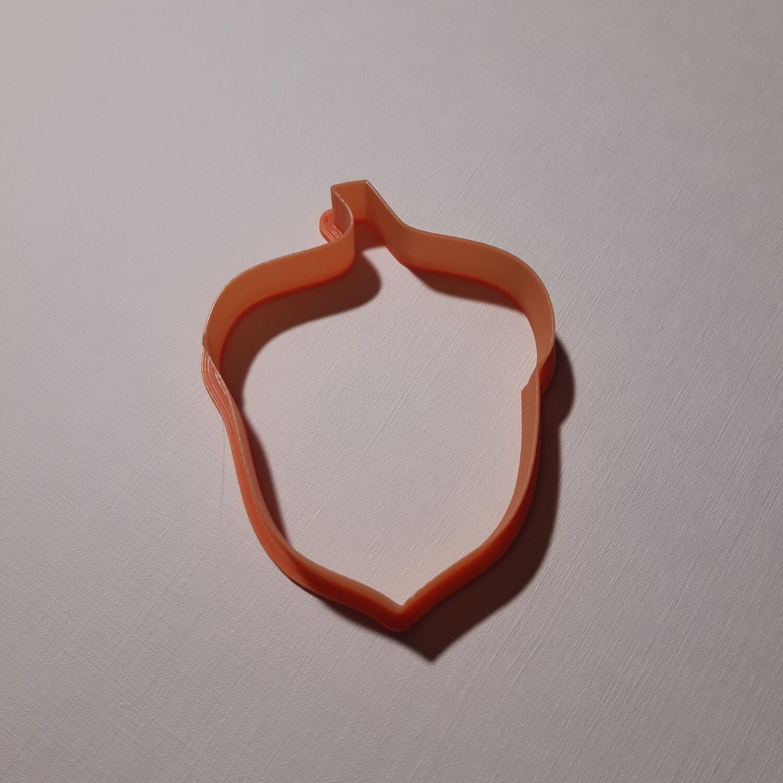 """Форма для пряника """"Желудь №1"""" (6,5 х 8 см)"""