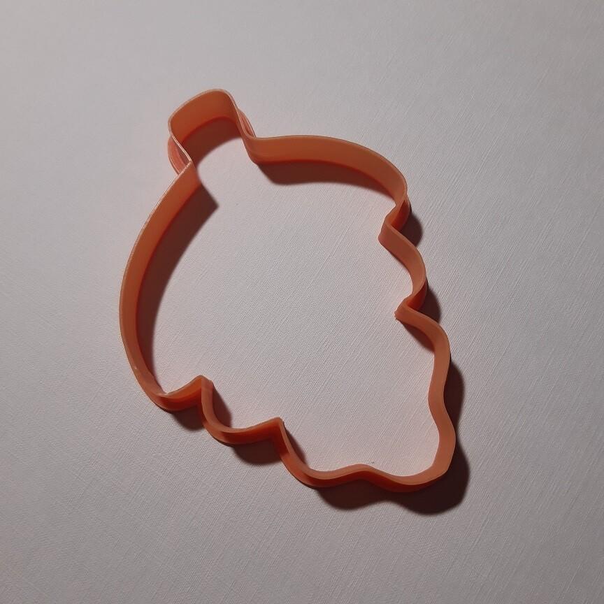"""Форма для пряника """"Листик №3"""" (8,5 х 11 см)"""