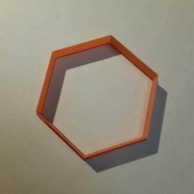 """Форма для пряника """"Шестиугольник"""" (8,5 х 10 см)"""