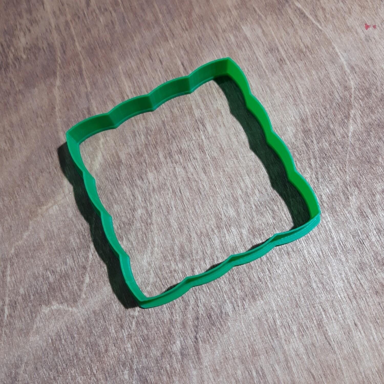 """Форма для пряника """"Рамка №24"""" (9 х 9 см)"""