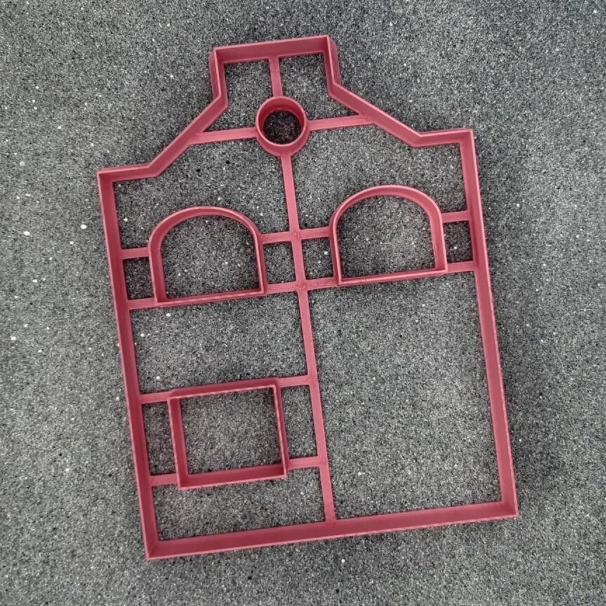 """Форма для пряников """"Домик №8"""" (12 х 16 см)"""