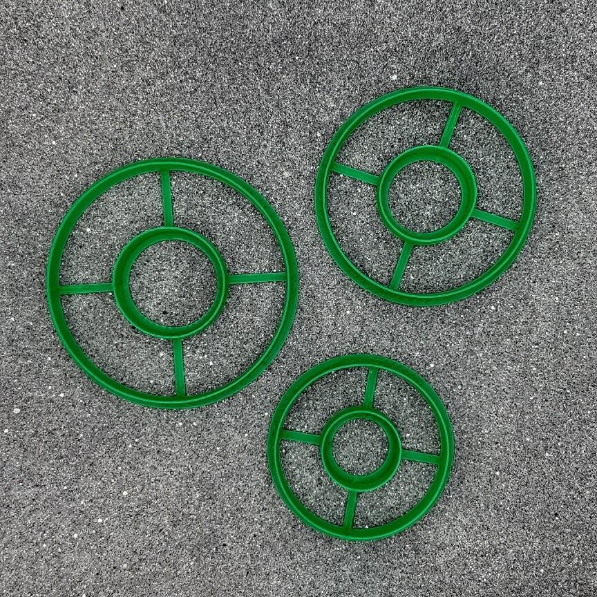 """Набор мини форм для пряников """"Рождественские венки"""" 5, 6 и 7 см"""