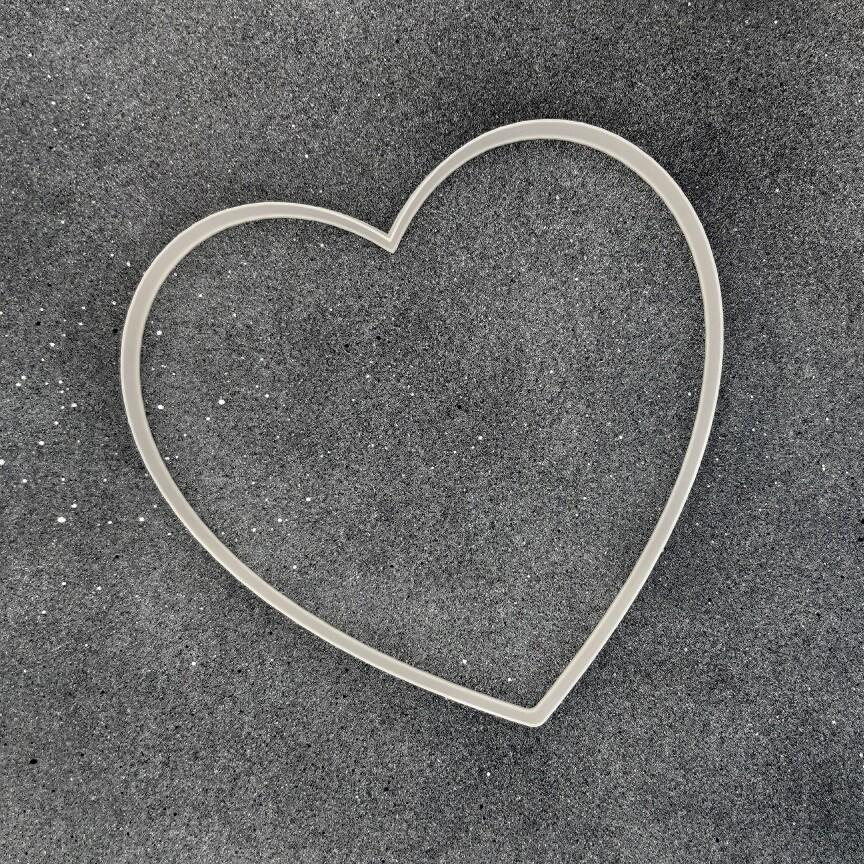 """Форма для пряника """"Сердце №4"""" (18 х 17 см)"""
