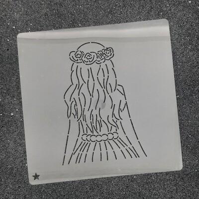 Трафарет для пряников