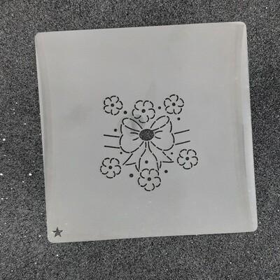 """Трафарет для пряников """"Пасхальный №3"""" (6,5 х 6,5 см)"""