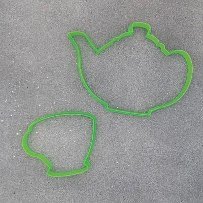 """Набор форм для пряников """"Чашка №2"""" (9 х 7,5 см) и """"Чайник №2 (15,5 х 11 см)"""