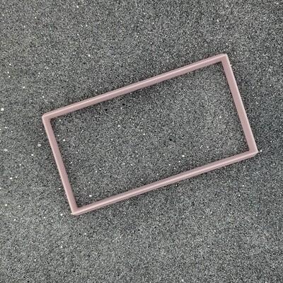 """Форма для пряников """"Прямоугольник"""" 10,5 х 5,5 см"""
