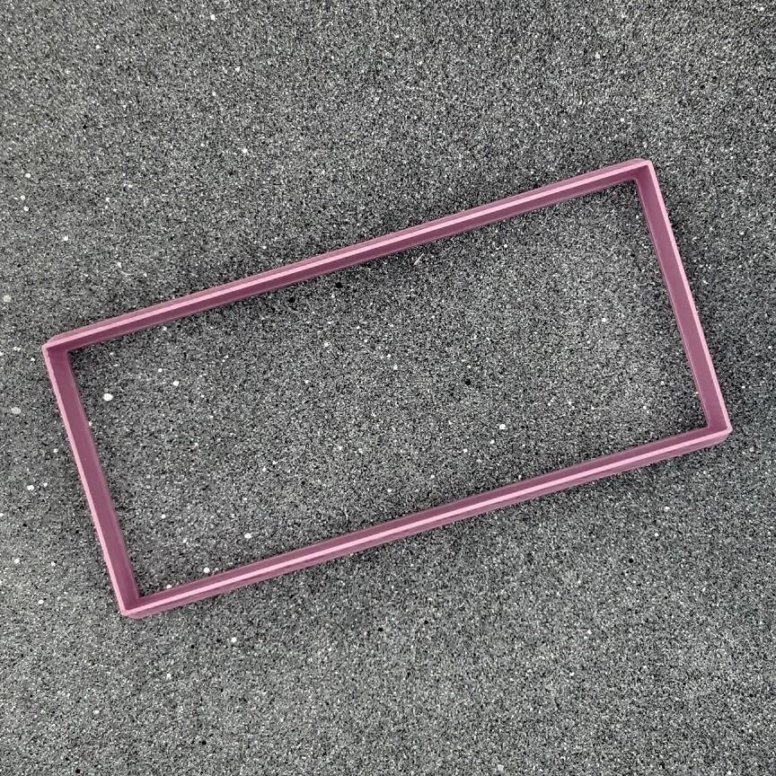 """Форма для пряников """"Прямоугольник"""" 12,5 х 5,5 см"""