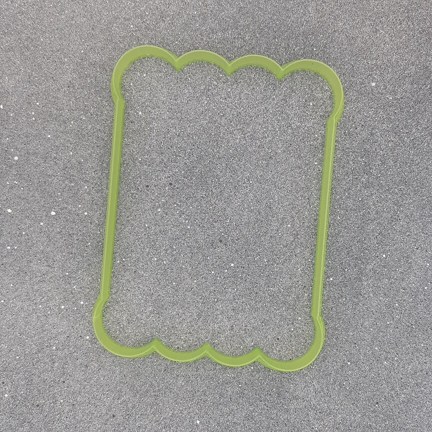 "Форма для пряников ""Раскраска №2"" (9,5 х 13 см)"
