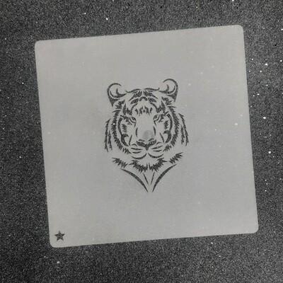 """Трафарет для пряников """"Тигр №1"""" (5,5 х 7,5 см)"""