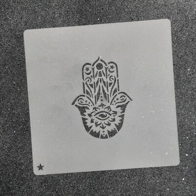 "Трафарет для пряников ""Хамса №1"" (6 х 8 см)"