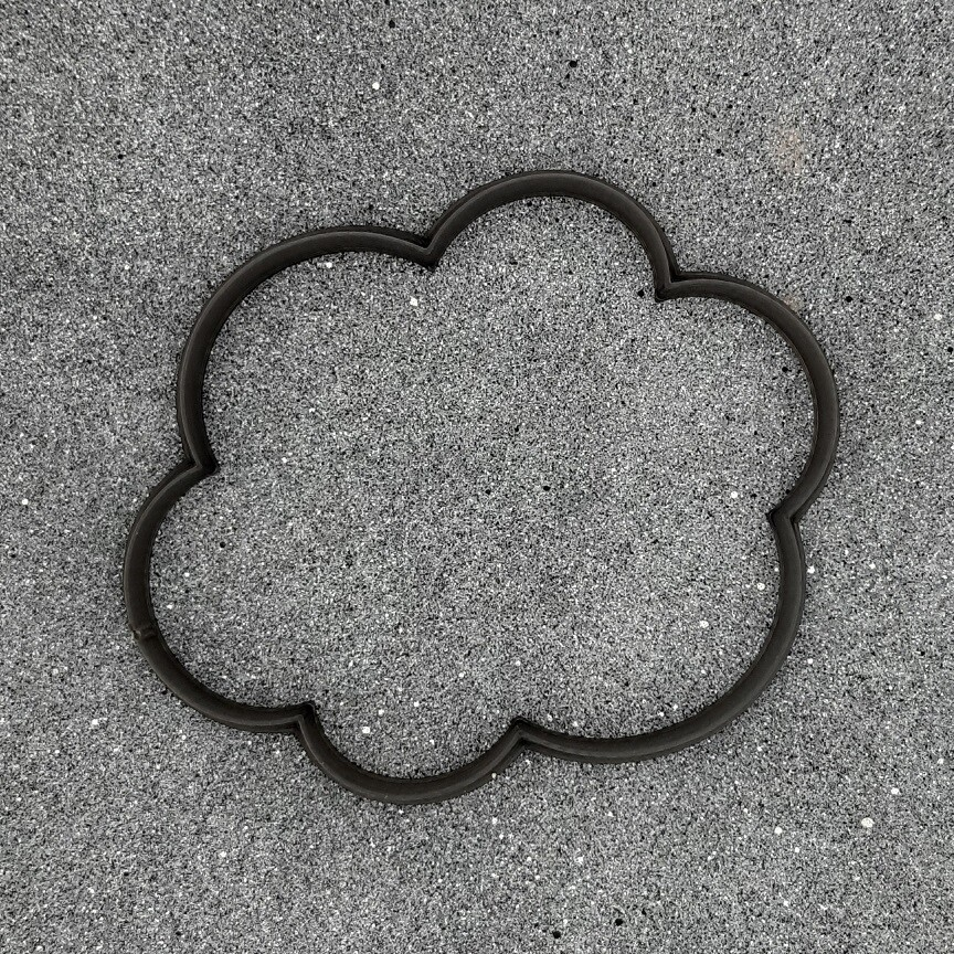 """Форма для пряников """"Облако №3"""" (11,5 х 9,5 см)"""