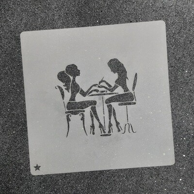"Трафарет для пряников ""Маникюр №1"" (8 х 7,5 см)"