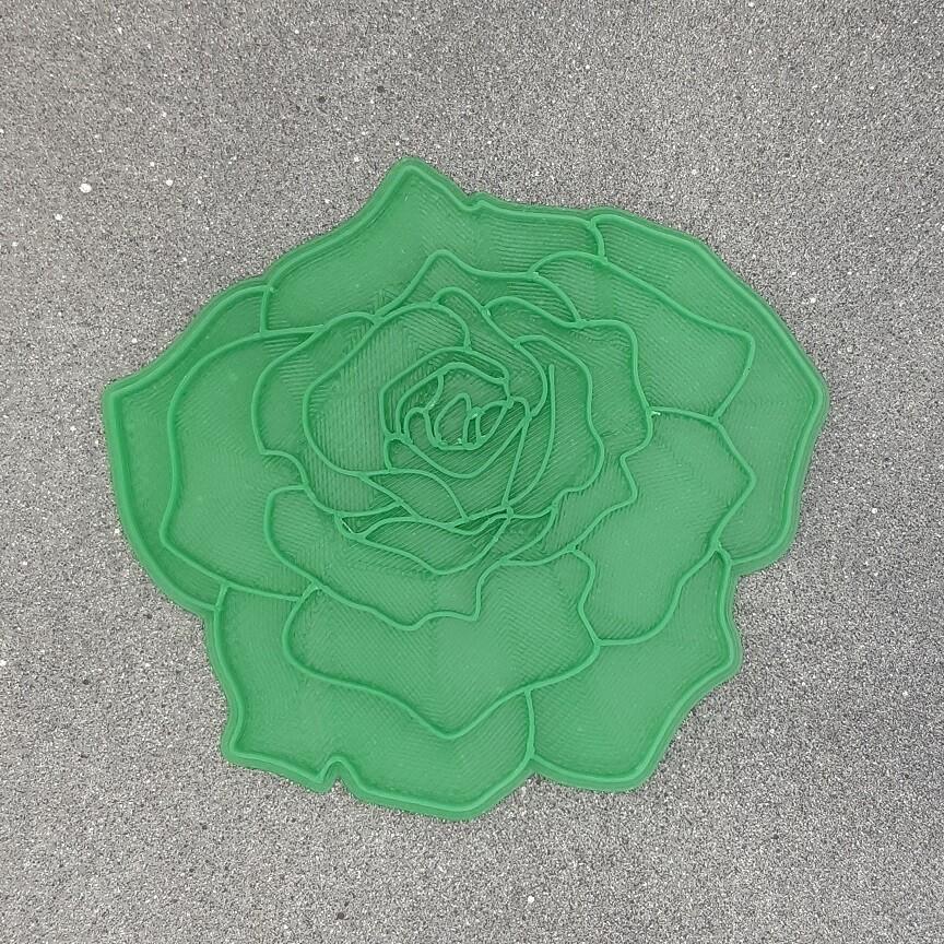 """Штамп для пряников """"Роза №1"""" (12 х 11 см)"""