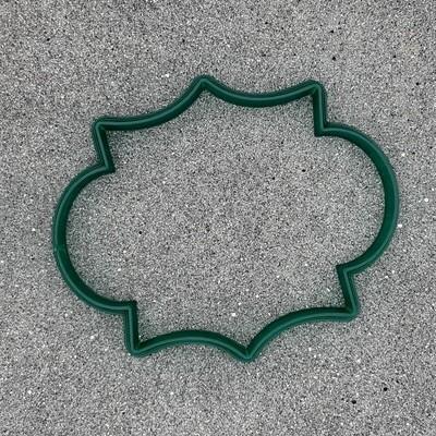 """Форма для пряников """"Рамка №45"""" (10 х 8 см)"""