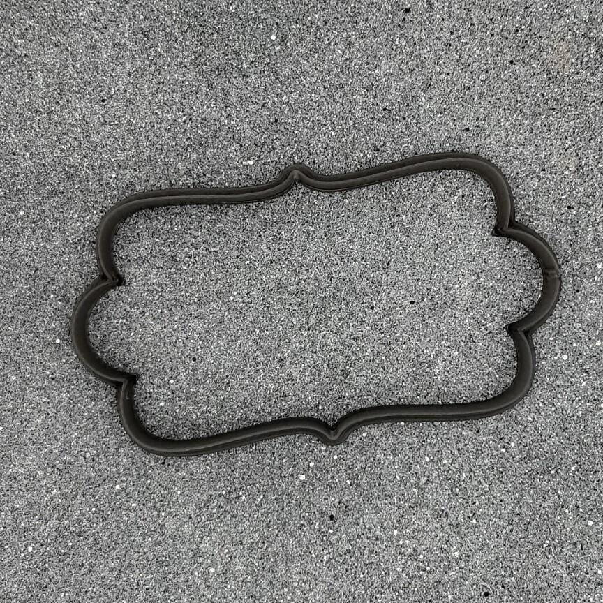 """Форма для пряников """"Рамка №37"""" (10 х 6 см)"""