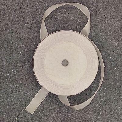 Белая атласная лента 12 мм
