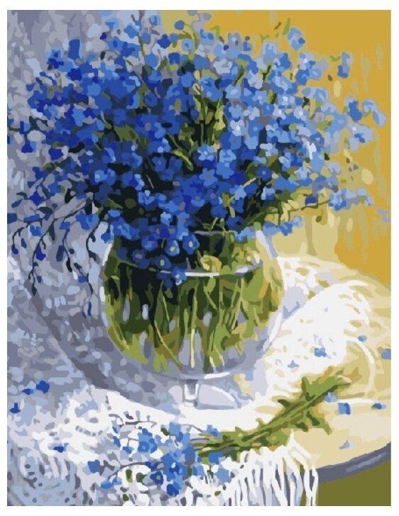 Картина по номерам GX 7210 Полевые цветы 40*50