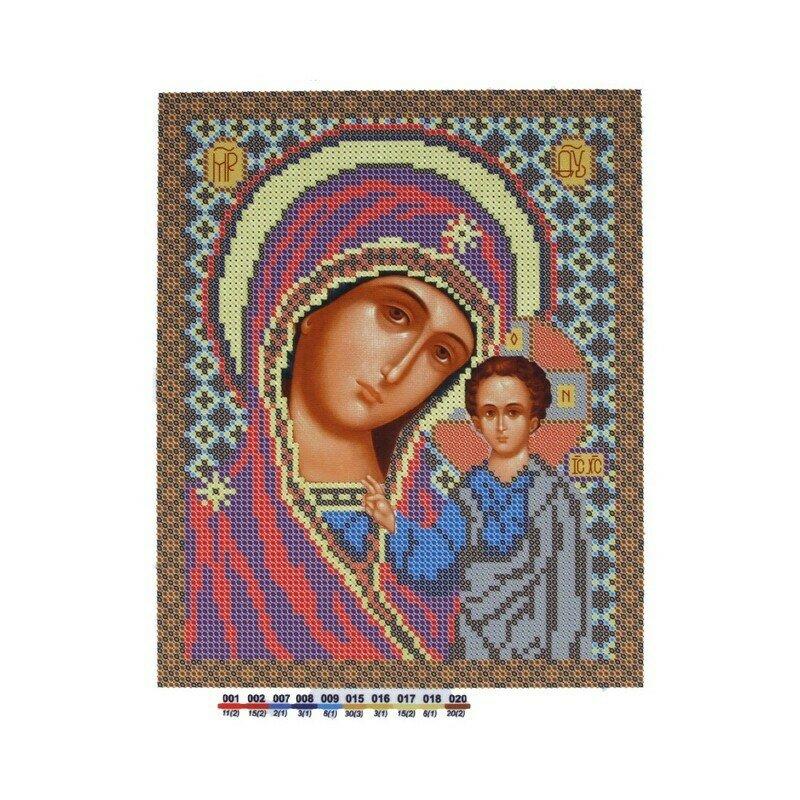"""Набор для вышивания """"Нова Слобода"""", БИС 9036 """" Богородица Казанская"""""""