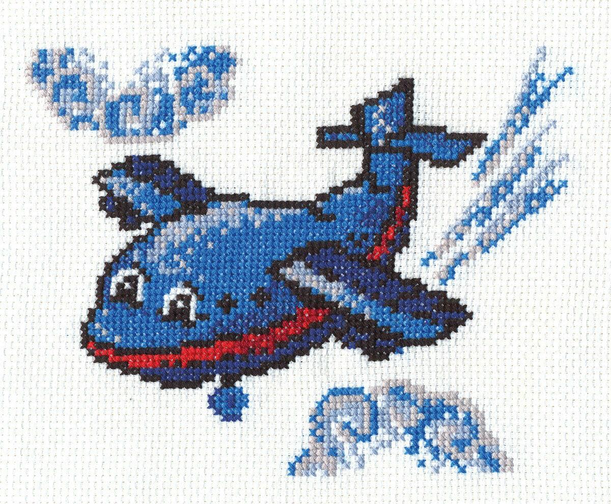 """Klart набор для вышивания, 8-057 """"Веселый самолетик"""""""