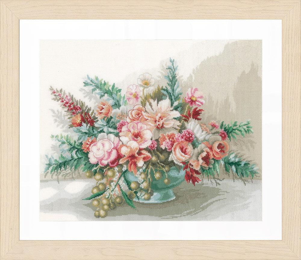 """Набор для вышивания """"LANARTE"""" №105PN-0169794 """"Букет цветов"""""""