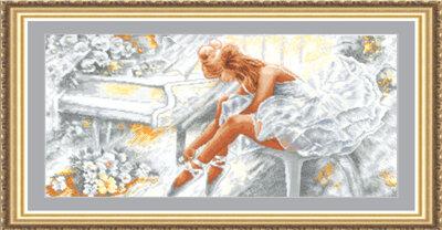 """Набор для вышивания """"ИН"""" №45Б-12 """"Балерина"""" 57 х 27 см"""