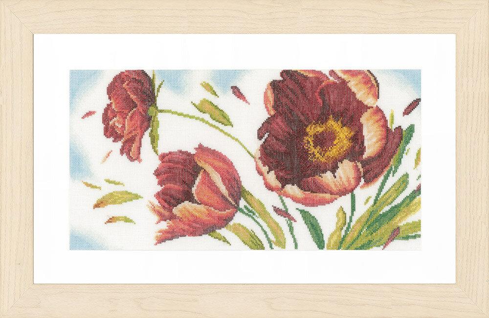 """Набор для вышивания """"LANARTE"""" №096PN-0157498 """"На ветру"""""""
