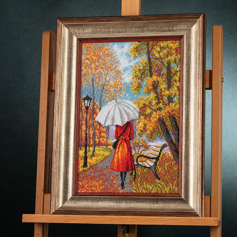 """Набор для вышивания """"Радуга бисера"""" В-287 """"Музыка дождя""""26 х 39 см"""