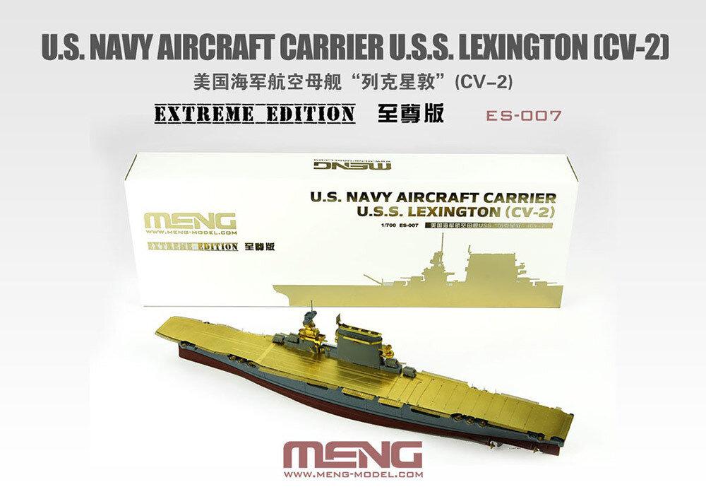 """MENG"" ES-007 ""корабль"" пластик 1/35U.S. Navy Aircraft Carrier U.S.S. Lexington (Cv-2) Extreme Edition"