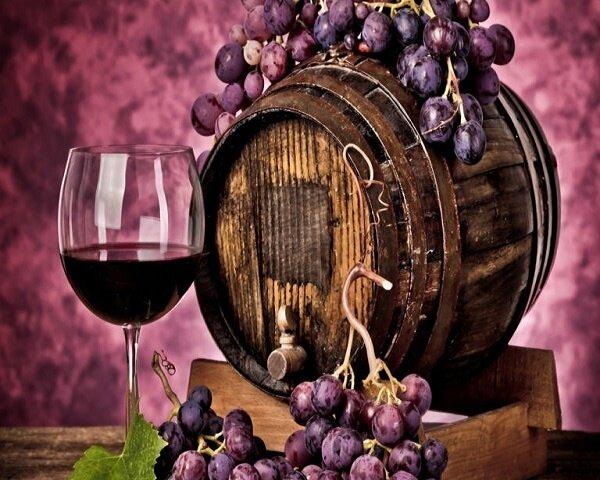 """Картина по номерам Paintboy GX8989 """"Виноградное вино"""" 40х50см"""