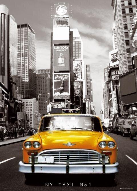 """Картина по номерам Paintboy GX8241 """"Нью-Йоркское такси"""" 40х50см"""