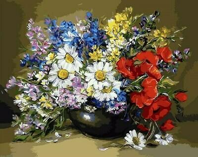 Картина по номерам GX9471 Буйство красок 40х50см