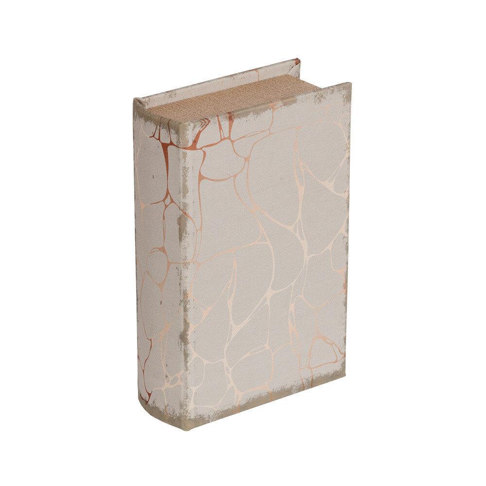 "BBK-01 шкатулка-книга 17 x 11 x 5 см, №092 ""Мраморный стиль"""