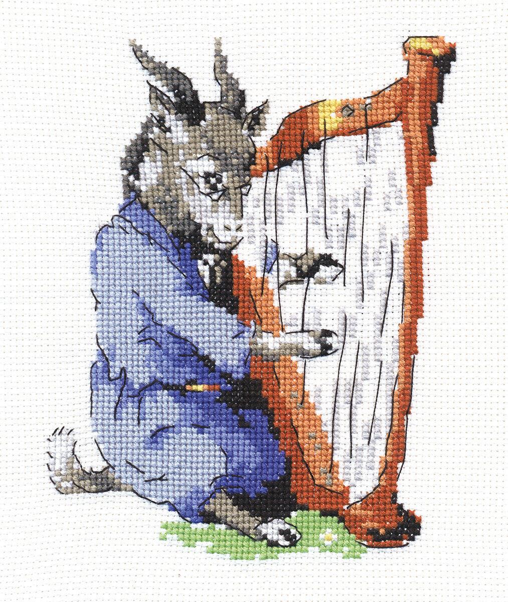 """Klart набор для вышивания, 4-049 """"Козлик-музыкант"""""""