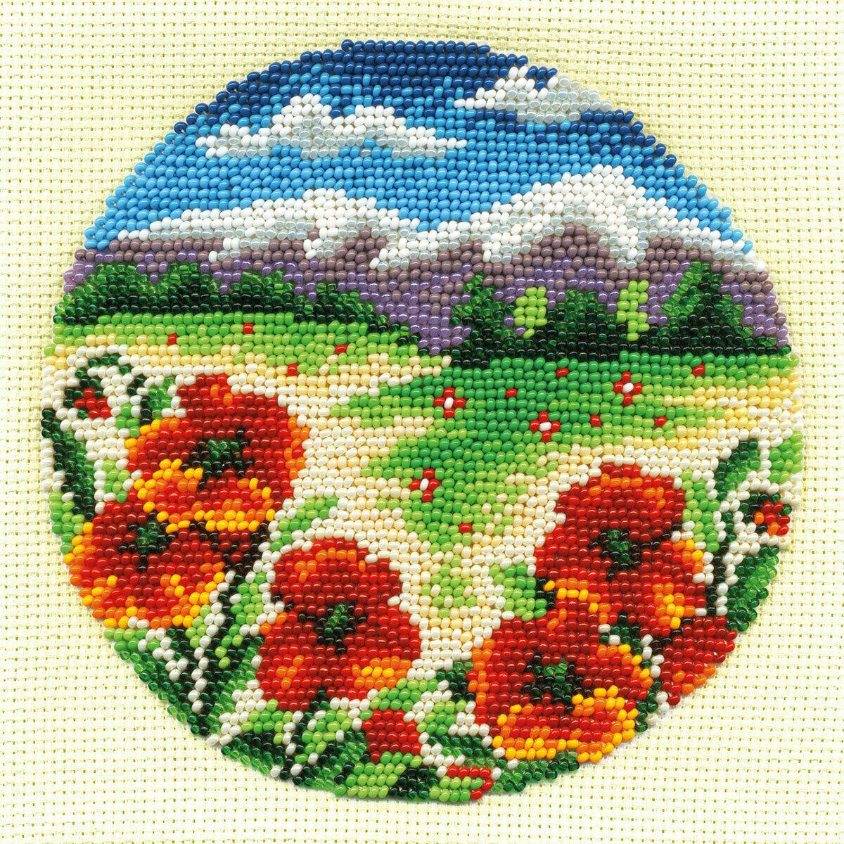 """Klart набор для вышивания, 8-069 """"Цветочная поляна"""""""