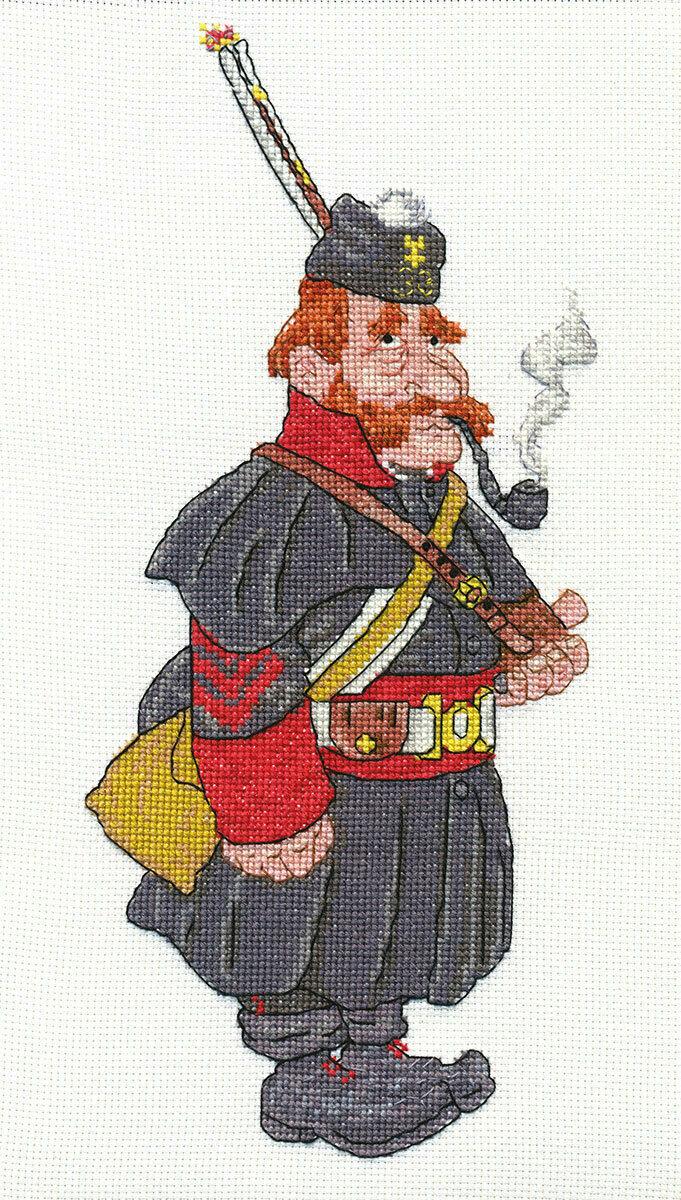 """Klart набор для вышивания, 8-076 """"Бравый солдат"""""""