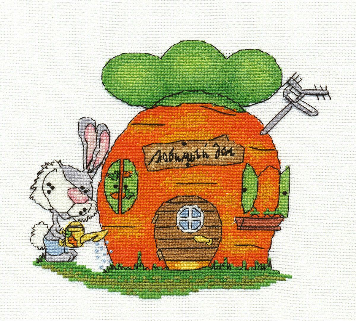 """Klart набор для вышивания, 8-078 """"Любимый дом"""""""
