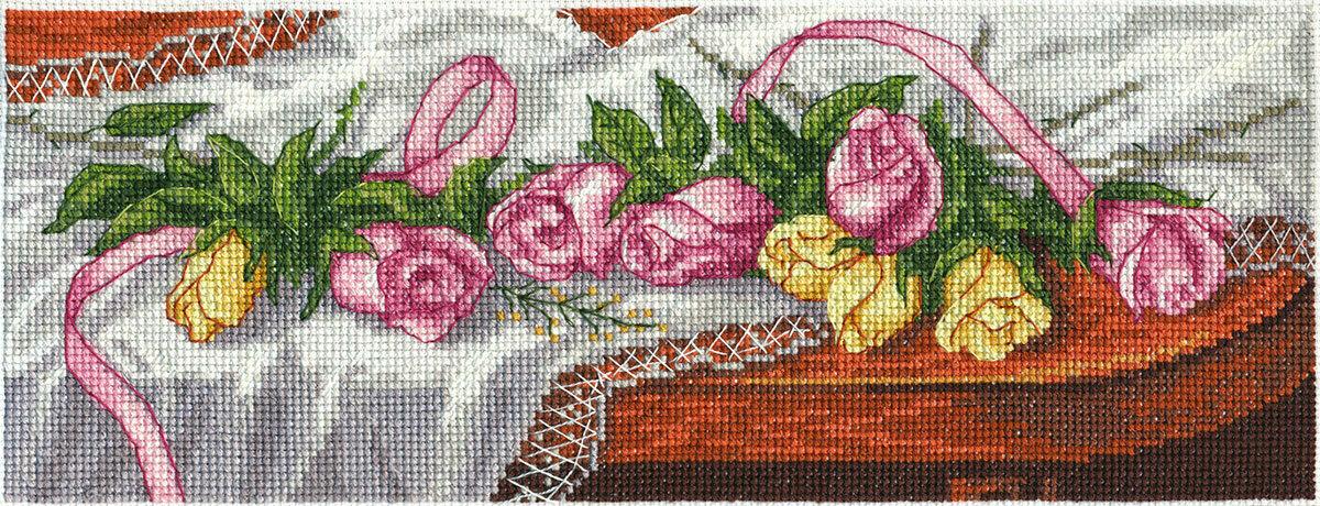 """Klart набор для вышивания, 8-084 """"Розы на столе"""""""