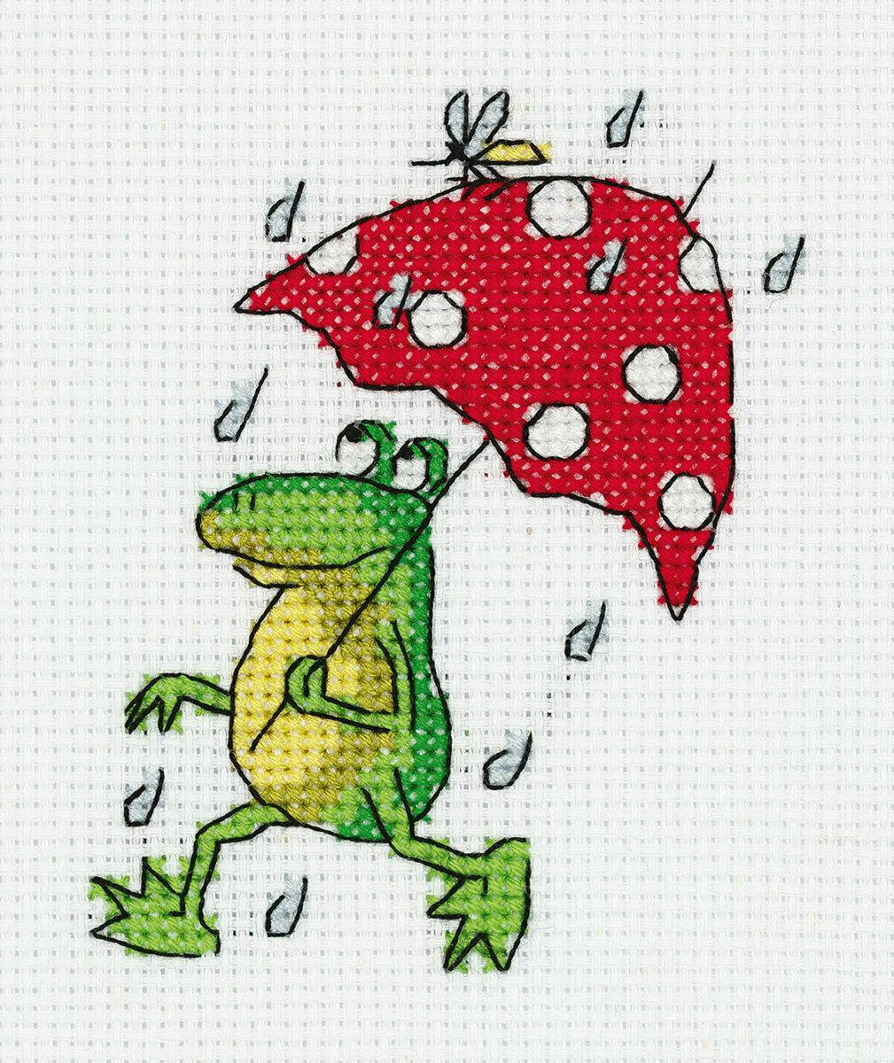 """Klart набор для вышивания, 8-378 """"Летний дождь"""""""