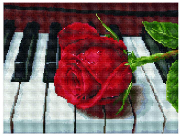 """Алмазная мозаика Paintboy Original""""Благодарность музыканту"""" 30х40"""